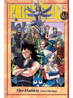 cover image of Fairy Tail, Volume 13